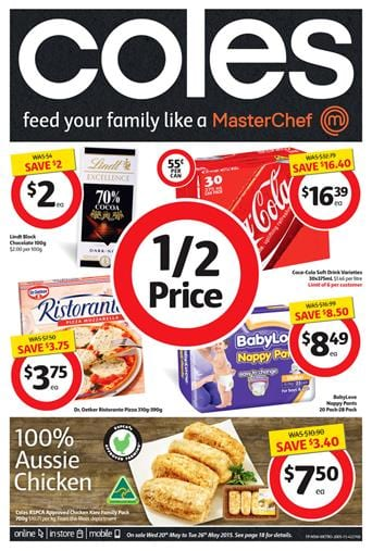 Coles Catalogue Specials 20 May 2015