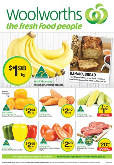 Woolworths Catalogue 10 July 2015