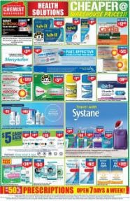 Chemist Warehouse $5 Cash Back Deal Pain Relievers And More