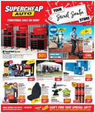 Supercheap Auto Christmas Sale Catalogue 4 - 15 Dec 2019
