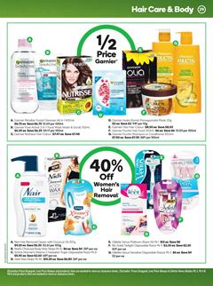 Woolworths Catalogue Garnier Half-Price 8 - 14 Jan 2020