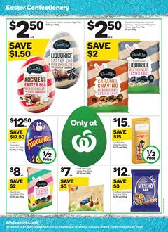 Woolworths Catalogue Easter Treats 8 - 14 Apr 2020