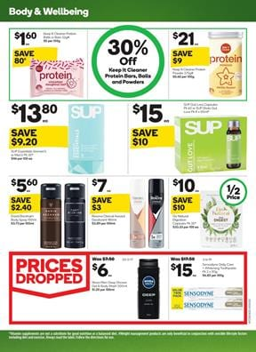 Woolworths Catalogue Wellness Products 8 - 14 Apr 2020