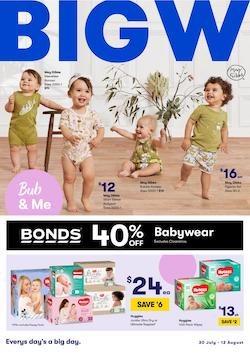 Big W Catalogue Baby Care Products Jul - Aug 2020