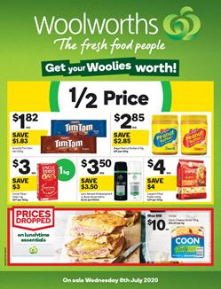Woolworths Catalogue Grocery 8 - 14 Jul 2020