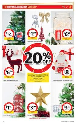 Coles Catalogue Christmas Decoration 25 Nov - 1 Dec 2020