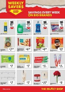 Reject Shop Catalogue Weekly Savers