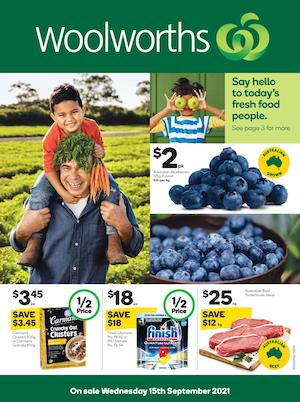 Woolworths Catalogue 15 - 21 Sep 2021