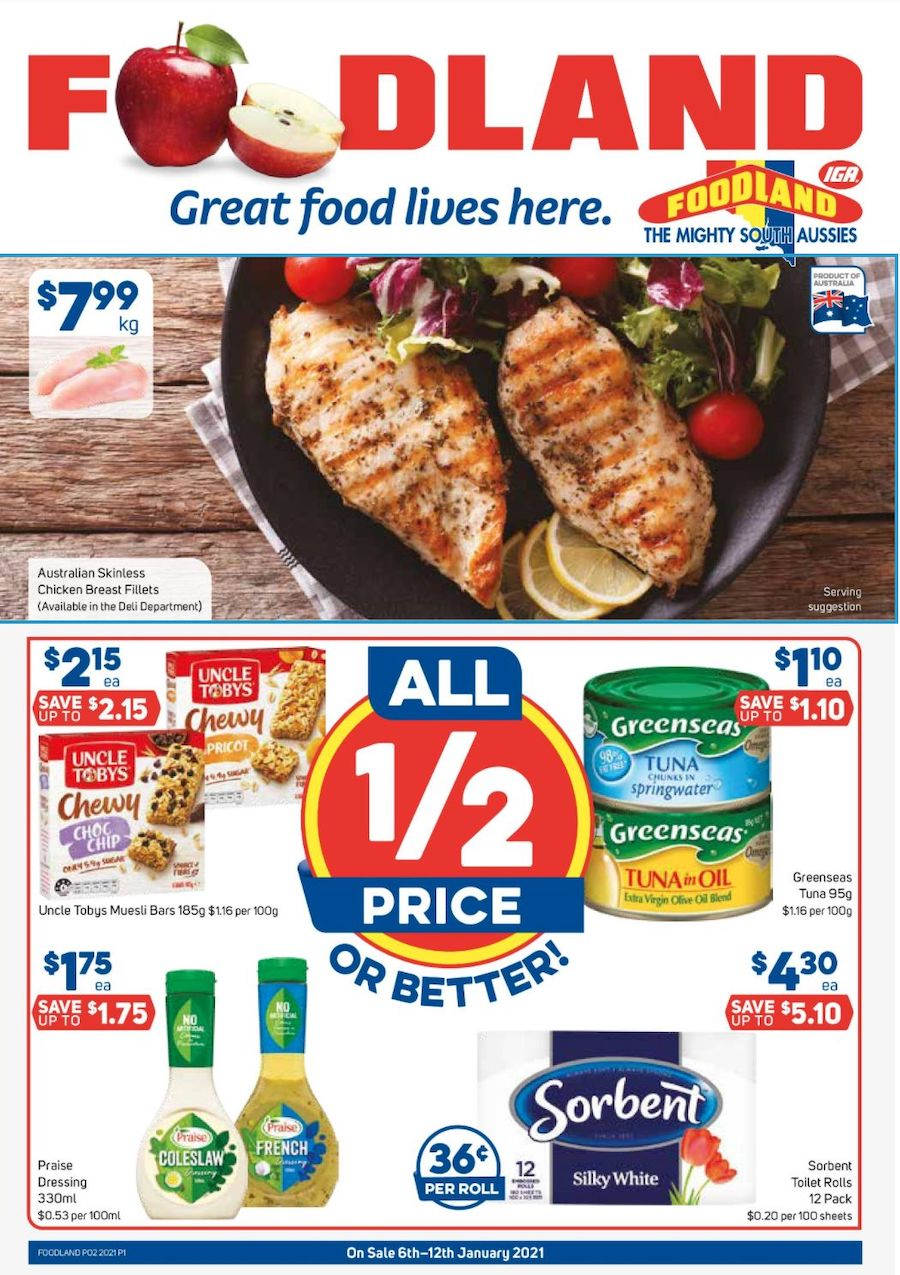 Foodland Catalogue