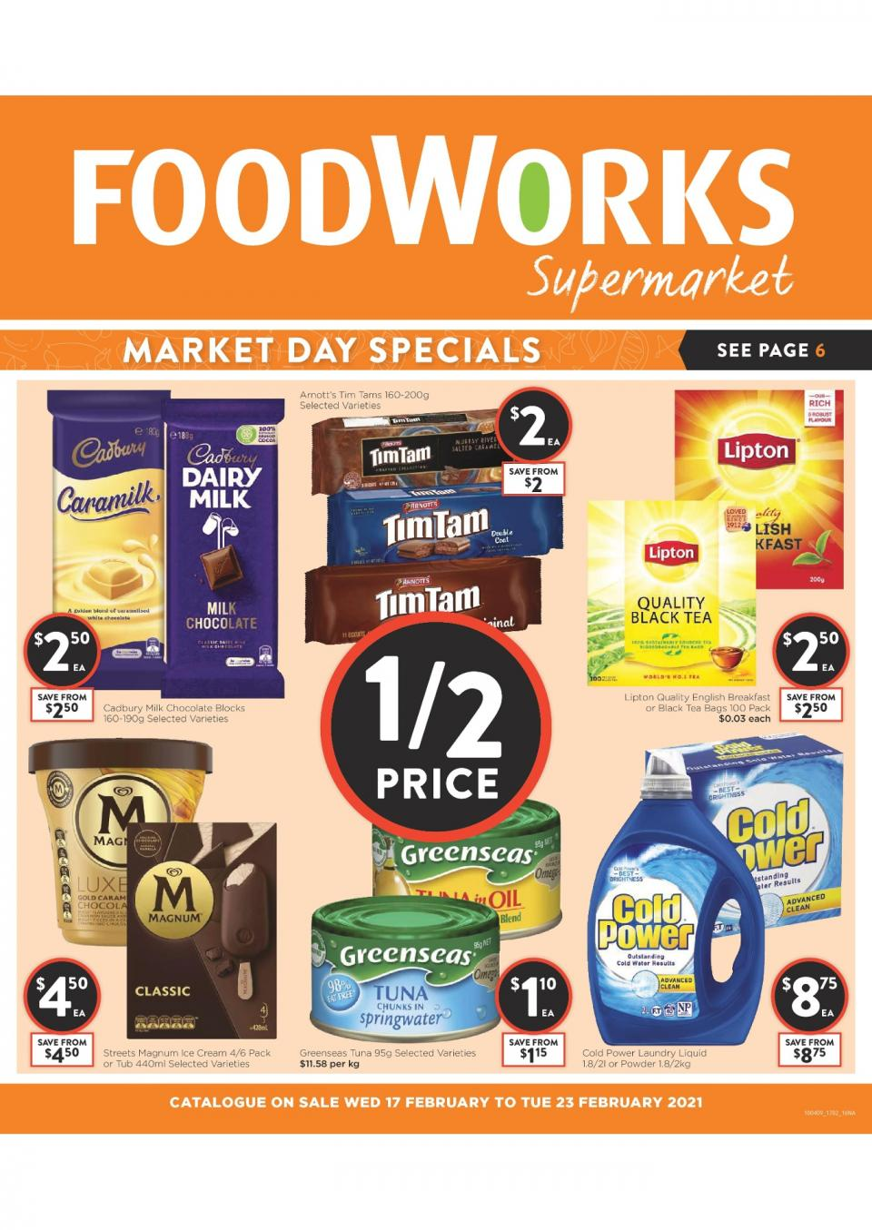 Foodworks Catalogue