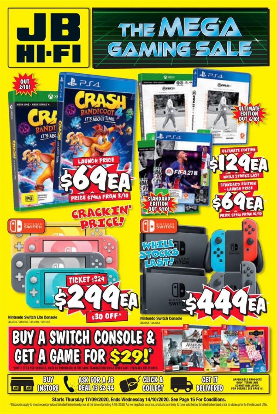 JB Hi-Fi Catalogue