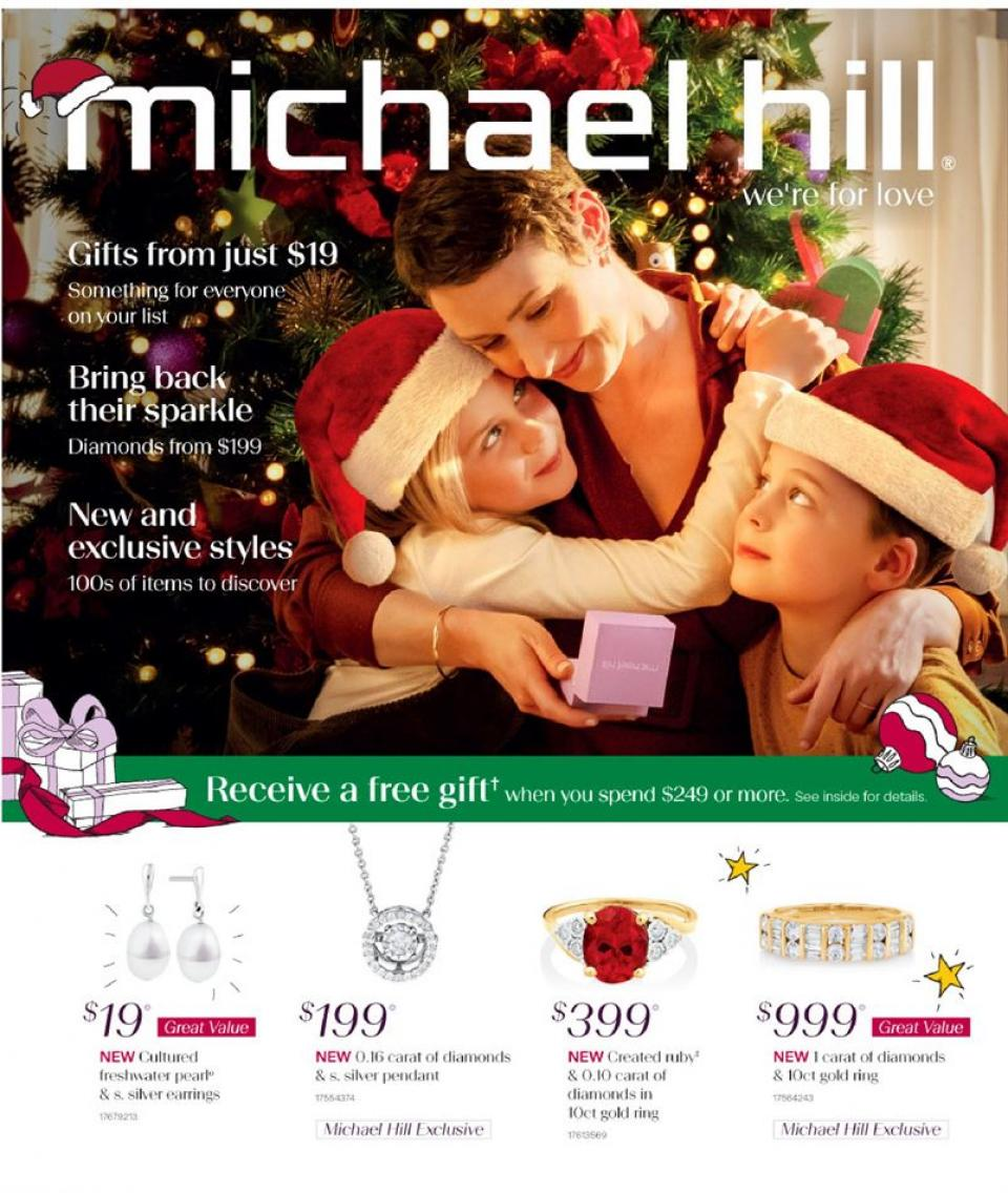Michael Hill Catalogue