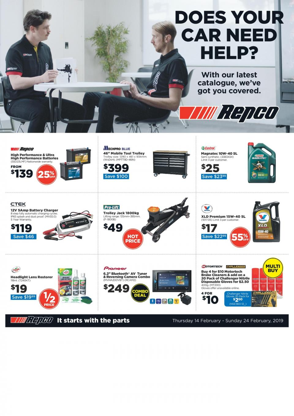 Repco Catalogue